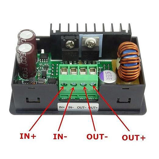Dps3012 Kommunikation Dc32v 12a Schritt Programmierbar Stromversorgungsmodul