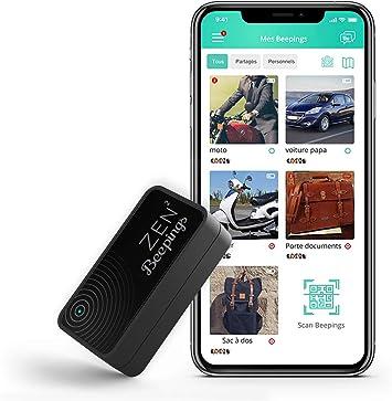 Tracker GPS ZEN2 by Beepings con fijación magnética, Alerta antirrobo y Detector de Movimientos para Coches, Motos y Scooters. ¡Suscripción y Servicios incluidos!: Amazon.es: Electrónica
