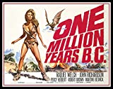 One Million Years BC Fridge Magnet 3.5 x 5 Raquel Welch Magnetic Movie Poster