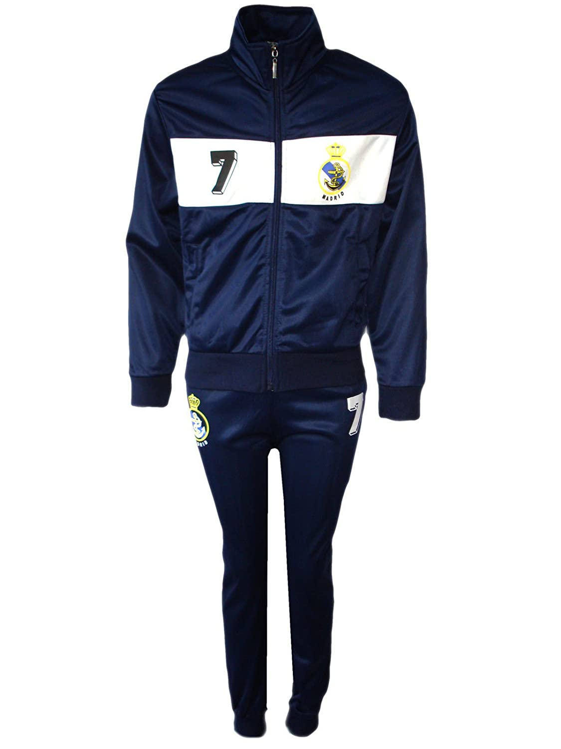 Aelstores - Boys Football Tracksuit Bottoms New Top Training Kit Set Size Age 4-12 Years BNWT