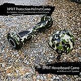 XPRIT 6.5' Hoverboard w/Bluetooth Speaker, Helmet Set (Camouflage-Set)