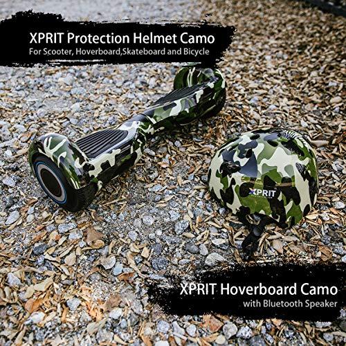 XPRIT 6.5″ Hoverboard w/Bluetooth Speaker, Helmet Set