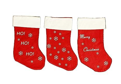 HAAC Bota-calcetín Botas calcetín de Navidad con motivos navideños Fieltro 37 cm Navidad