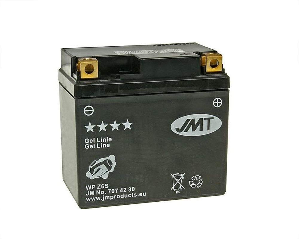 Batterie JMT GEL - YTZ6S 12 Volt [ inkl.7.50 EUR Batteriepfand ] 2952683