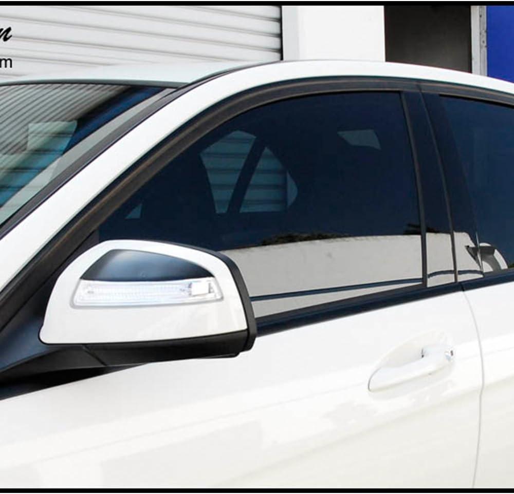 12ft Universal Gloss Moulding Decoration Strip Trim Car Body Protect Black PVC Soft Plastic 30mm Width