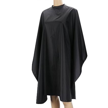Capa de corte de cabello, Segbeauty Black Hairdressing Bata de nylon para el color del