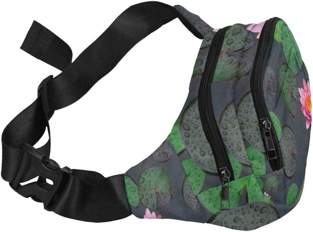 Beautiful Tropical Rainforest Tree Frog Fenny Packs Waist Bags Adjustable Belt Waterproof Nylon Travel Running Sport Vacation Party For Men Women Boys Girls Kids