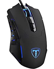 VicTsing Gaming Mouse Ergonomic Game Mouse with [7200 DPI] [Breathing LED Backlight] [Programmable] [7 Buttons] for Gamer PC Laptop Computer Desktop Mac