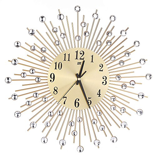 - Giulot Diamond Rain Drop Metal Wall Clock 25