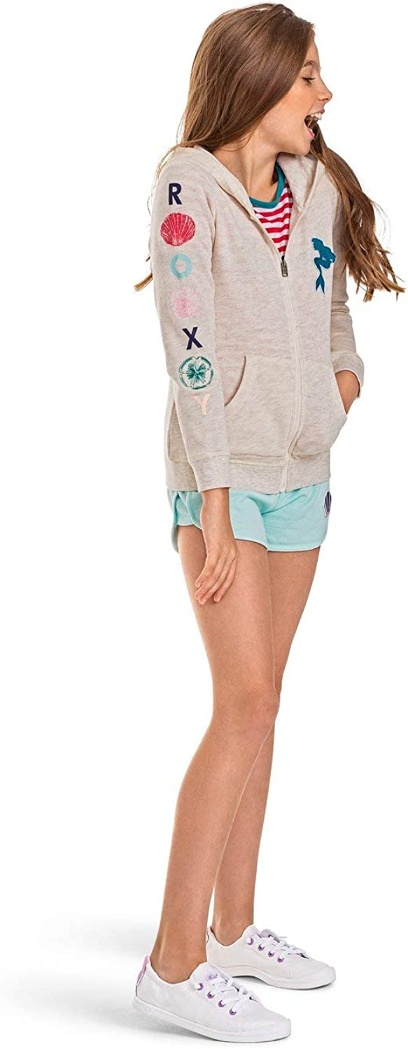 ROXY Girls Big Little Mermaid My Fins Zip Up Fleece