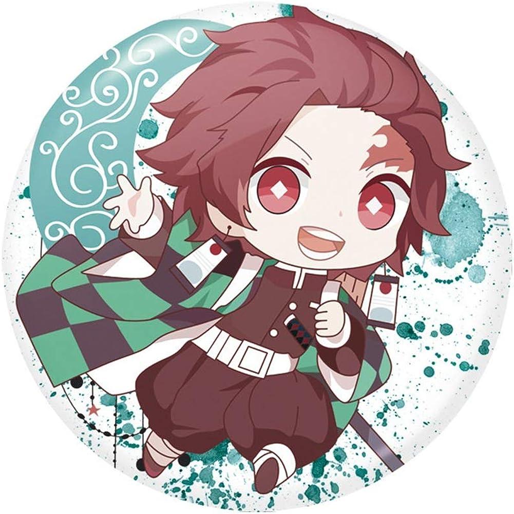 nobrand Anime Demon Slayer Kimetsu no Yaiba Pins Button Badge f/ür Kleidung Rucksack Cosplay Geschenk