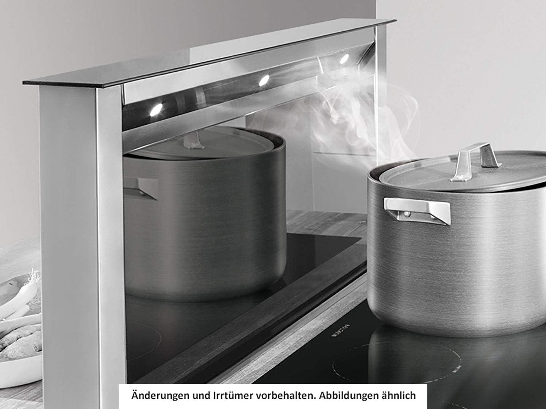 Silverline Apollo RF Intern Premium ARIT 120 S - Cubierta para mesa (acero inoxidable y cristal, 111 cm), color negro: Amazon.es: Grandes electrodomésticos