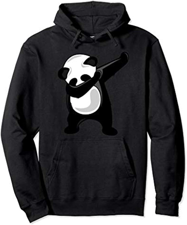 LELE Dabbing Panda Giant Bear Dab Dance Unisex Boy Girl Youth Women Men Adult Pullover Hooded Pocket Hoodie Sweatshirt