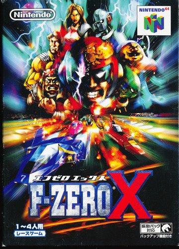 F-ZERO Xの商品画像