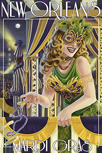Mardi Gras - New Orleans, Louisiana (16x - Mardi Gras Art Shopping Results