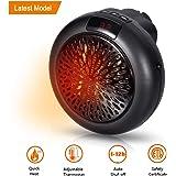 Insta Heater - Mini Estufa Eléctrica Calefactor Portátil con Termostato Ajustable, 12Horas Temporizador & Enchufe