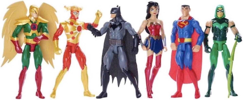 Amazon.com: Mattel dc comics Liga de la justicia 6 12 inch ...