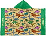 RNK Shops Dinosaurs Kids Hooded Towel (Personalized)