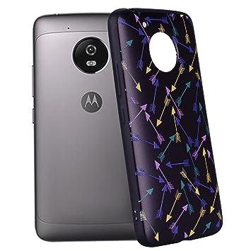 Yunbaozi Funda Compatible para Motorola Moto G5 Embossing ...