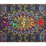 Grateful Dead - Psychedelic Bears Fleece Blanket