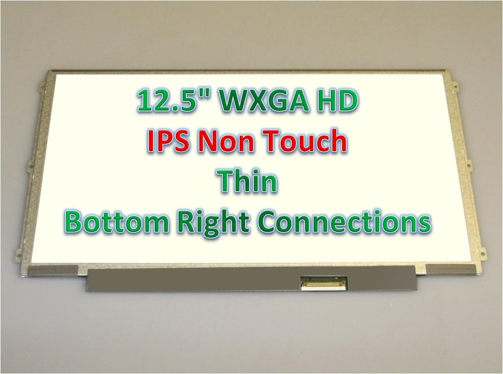 IPS for Lenovo Thinkpad X220 X230 New Replacement LCD Screen for Laptop LED HD Matte SL LP125WH2 T1