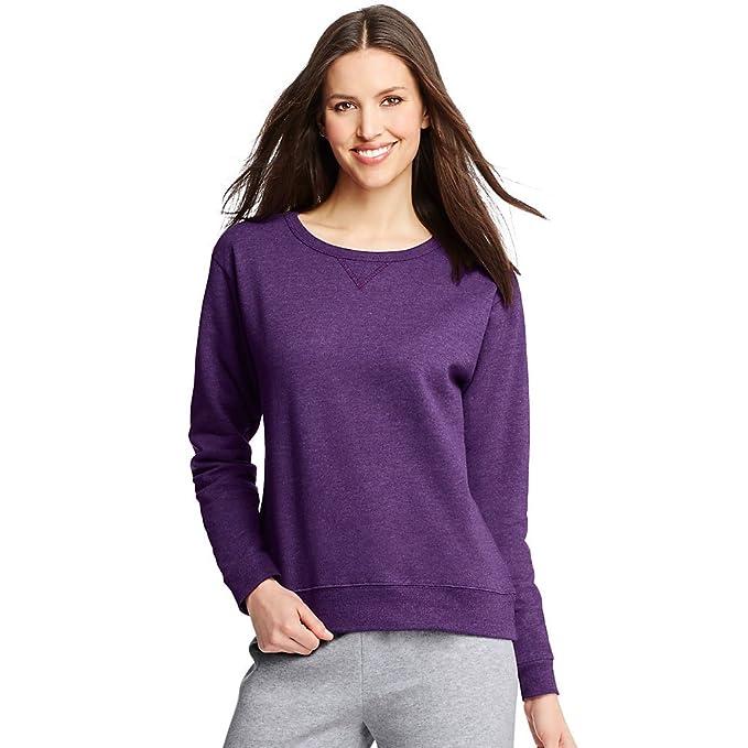 d375f2192d1 Hanes Women s Crewneck Sweatshirt
