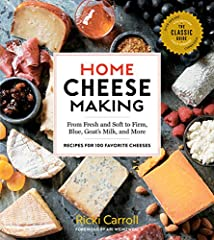 """Widely acclaimed as """"the Cheese Queen,"""" Ricki Carroll has guided thousands of home cheese makers and inspired the burgeoning popularity of artisanal cheese making with her classic book, Home Cheese Making, first published in 1982, with..."""