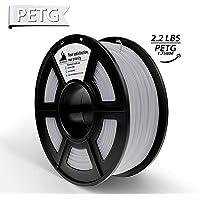 PLA Filament, PLA Filament 1.75mm,PLA 3D Printer Filament, 3D Printing Materials, Dimensional Accuracy +/- 0.02 mm, 2.2 LBS(1kg),1.75mm Filament,Black