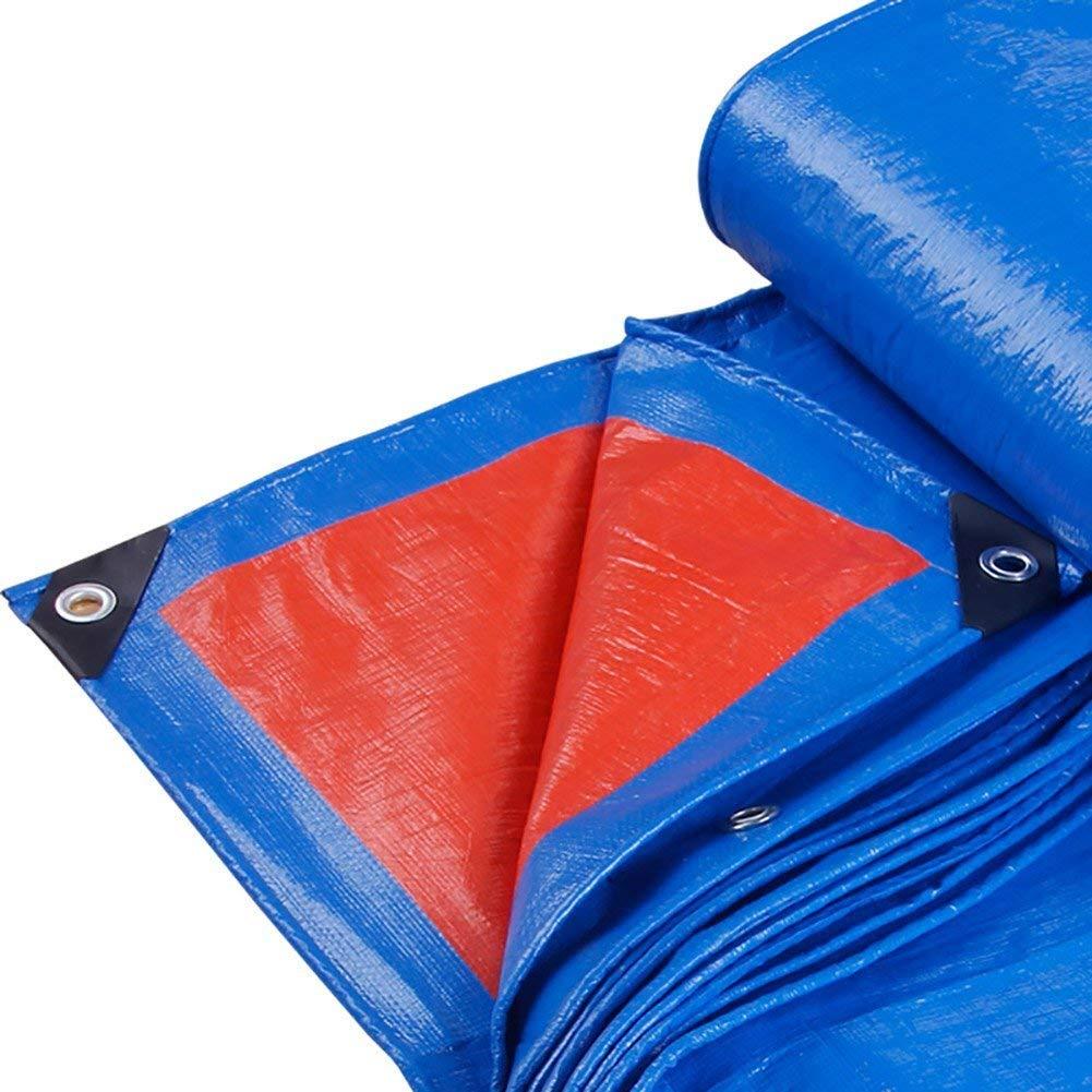 5 × 5m  ZLL BÂche extérieure imperméable-épaissie de bÂche de camion pare-brise de prougeection solaire bÂche de prougeection contre la pluie prougeection solaire pare-soleil anti-vieillisseHommest-180G   M² bleu,3 &time