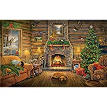 Holiday Rest - Christmas Home Puzzle - 550 pc Jigsaw Puzzle by SunsOut