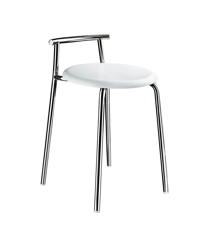 Smedbo SME fk401シャワー椅子、ステンレススチールPolished   B001A9HB48