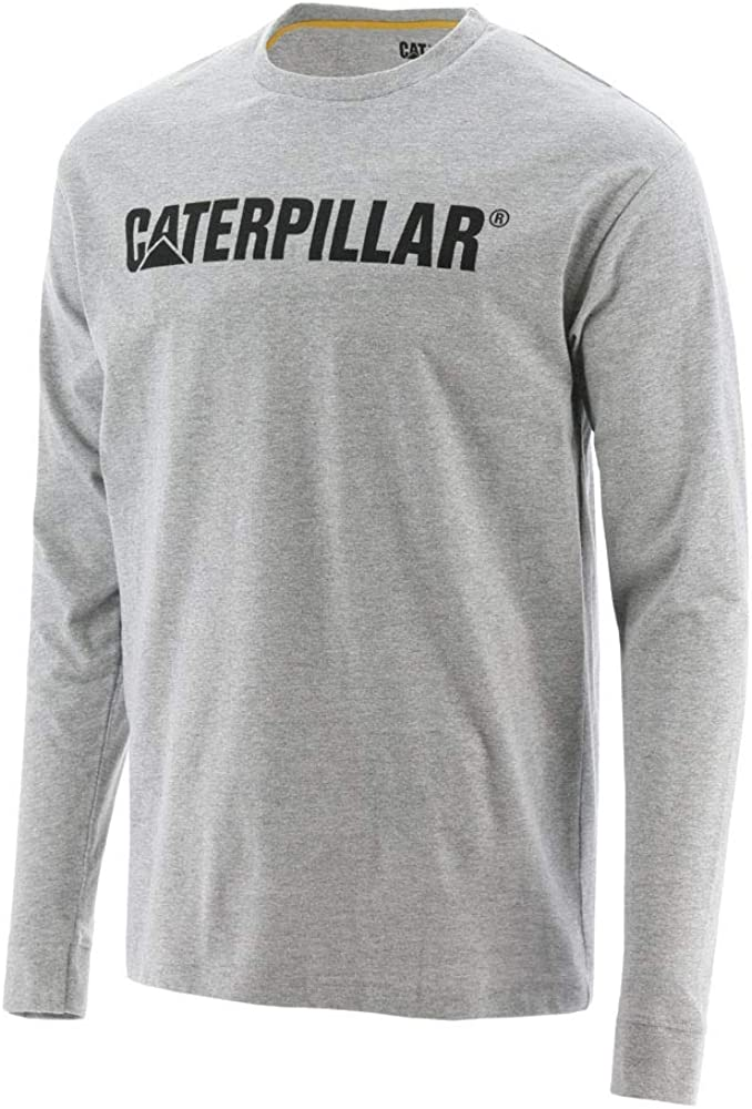 Caterpillar - Camiseta de protección solar para hombre UPF Defender - Gris - Medium: Amazon.es: Ropa y accesorios