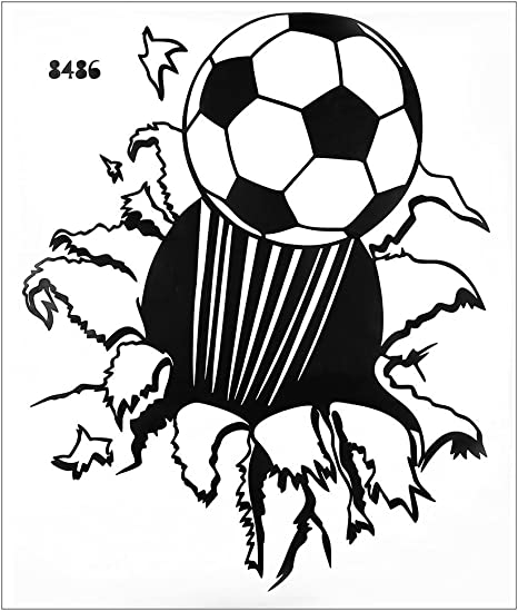 3d Football – Balón de fútbol americano de pared adhesivo arte PVC ...