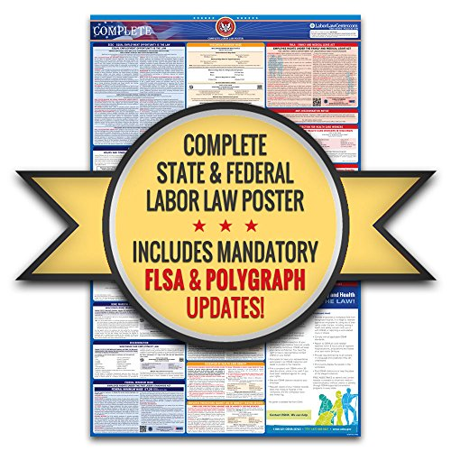 2018 Montana Labor Law Poster – State & Federal Compliant – Laminated Photo #7