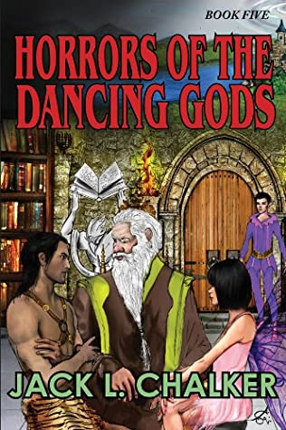 book cover of Horrors of the Dancing Gods