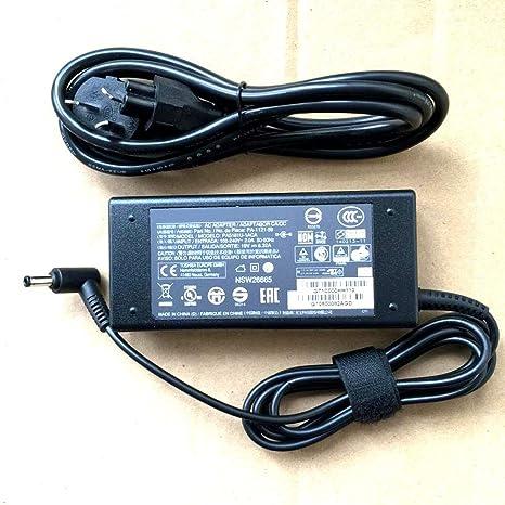 Amazon.com: Cargador adaptador de corriente para portátil ...