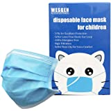 30Pcs Kids Disposable 3 Ply Breathable & Comfortable Anti Dust Face Mouth Filter Tools for Children,Vacuum Packing