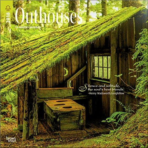 outhouses calendar 2018 deluxe outhouse wall calendar 12x12