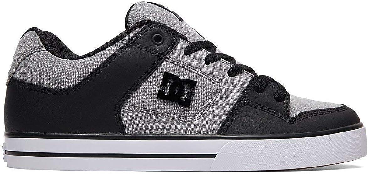 DC Herren Pure Se Skate-Schuh Grau Grau Grau