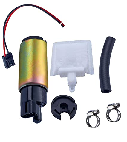 amazon com universal fuel pump with installation kit 12v compatible