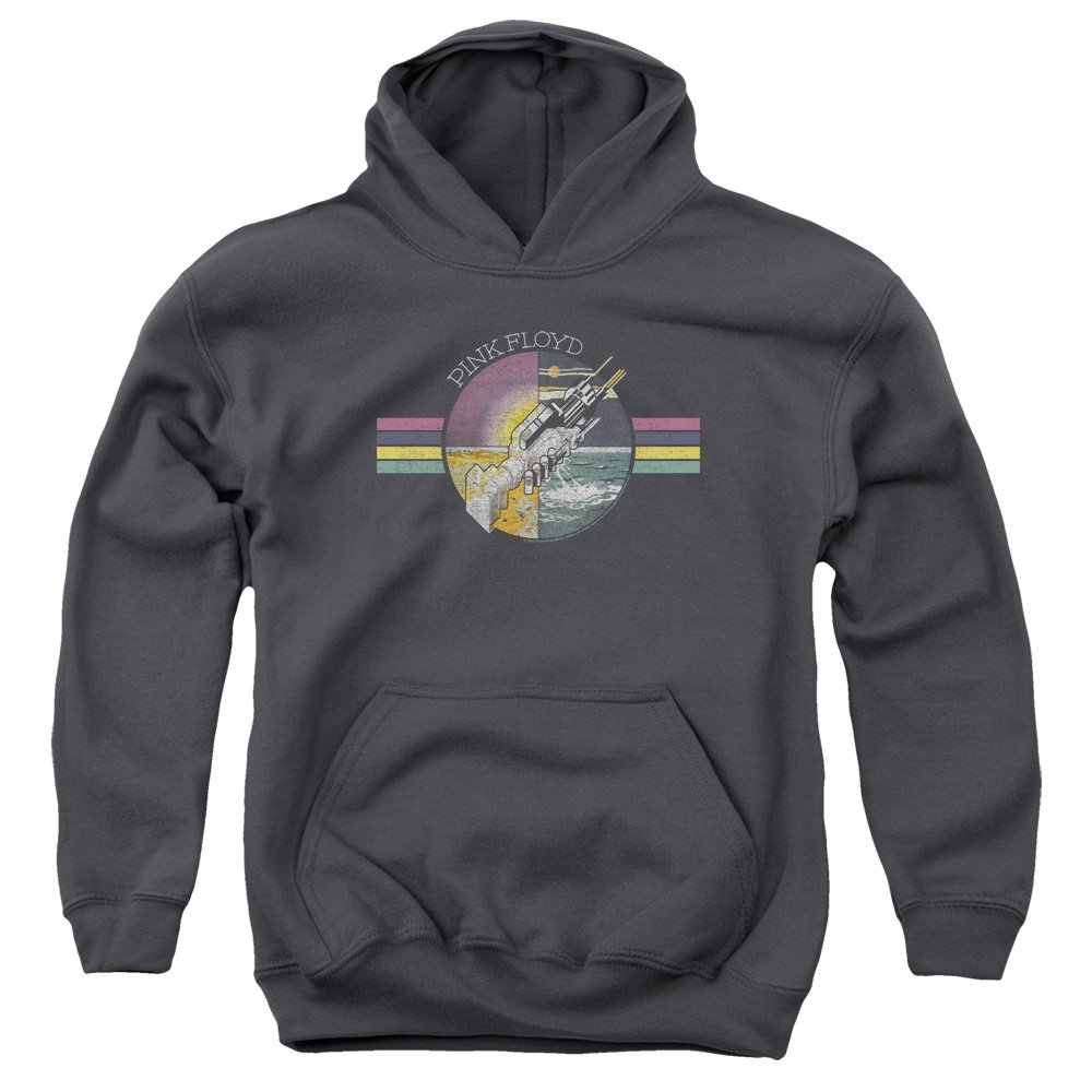 TeeShirtPalace Pink Floyd Welcome To The Machine Kids Pull Over Hoodie