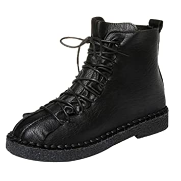 9b41d66c97641 Womens Winter Boots   Vintage Ladies Lace Up Ankle Booties   Back ...
