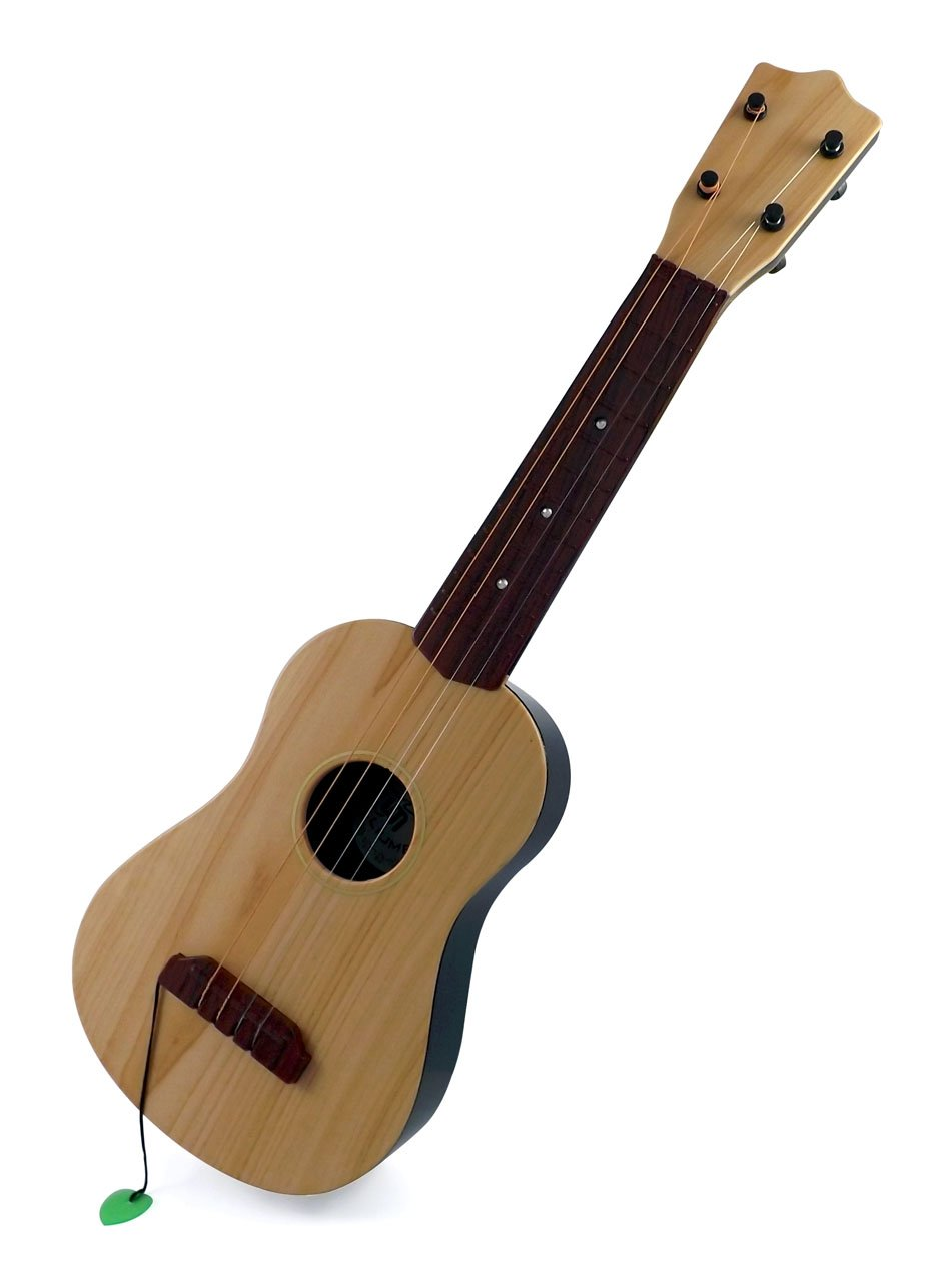Liberty Imports Classical Acoustic Guitar Toy for Kids with Vibrant Sounds and 4 Strings