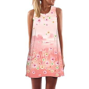 AUDBURN Frauen Sommer Lose Kurzarm Casual Dress Blusen Kleid Lose Tunika Casual T-Shirt Kleid Beiläufige Tank Kleider