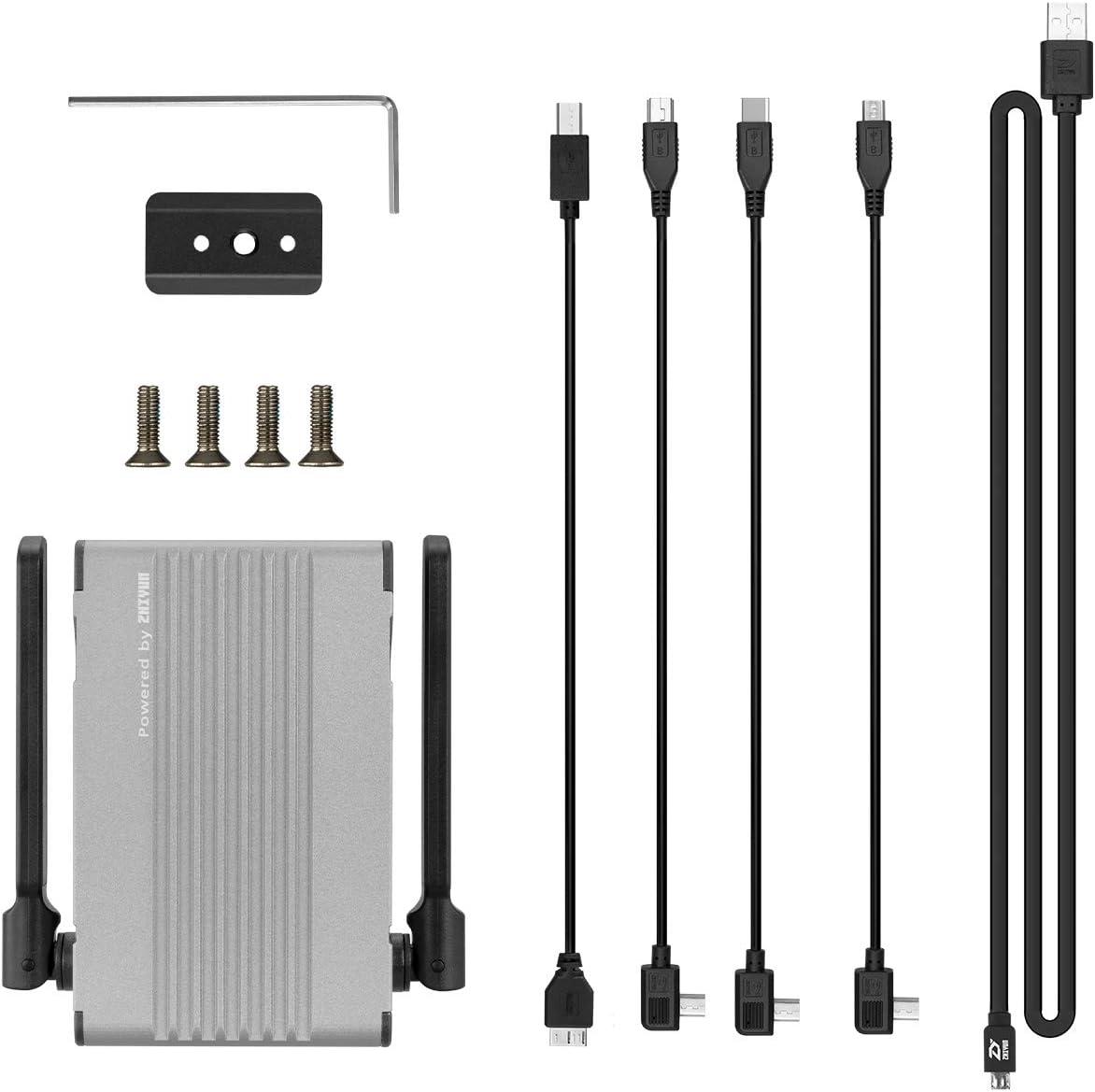 A Crane 3 Include Image Transmission Line ZHIYUN TransMount Image Transmission Transmitter 1080P HD Image Transmission for WEEBILL S Stablizer//Crane 2