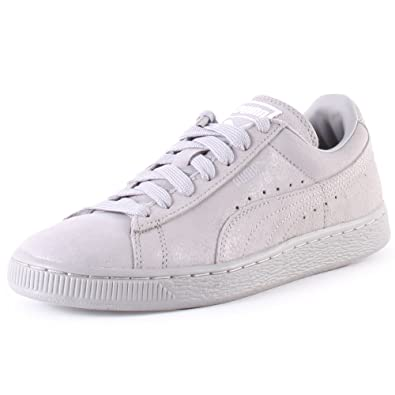 check out 968bf 3f309 Puma Suede Classic Matte   Shine Womens Trainers  Amazon.co.uk  Shoes   Bags