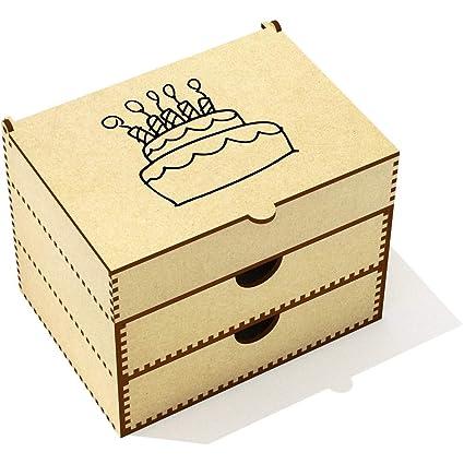 Azeeda Pastel de Cumpleaños Caja de Maquillaje (VC00020293 ...