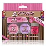 lil gloss - Piggy Paint 100% Non-toxic Girls Nail Polish - Safe, Natural Chemical Free Low Odor for Kids, Lil' Glam Girl Kit