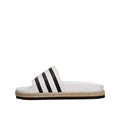 adidas CQ3092 Pantoufle Femme Blanc 35½ VPo0H4E
