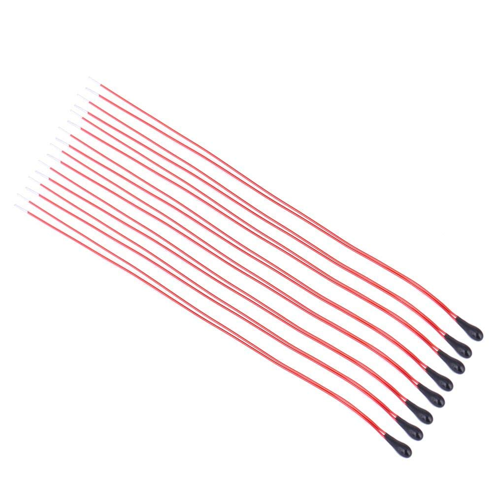 5K Resistencias t/érmicas de termistor NTC 60mm Varnished Wire MF52B Domestic Car Appliance